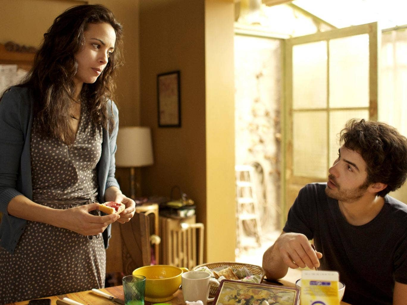 Bérénice Bejo (left) and Tahar Rahim star in 'The Past'