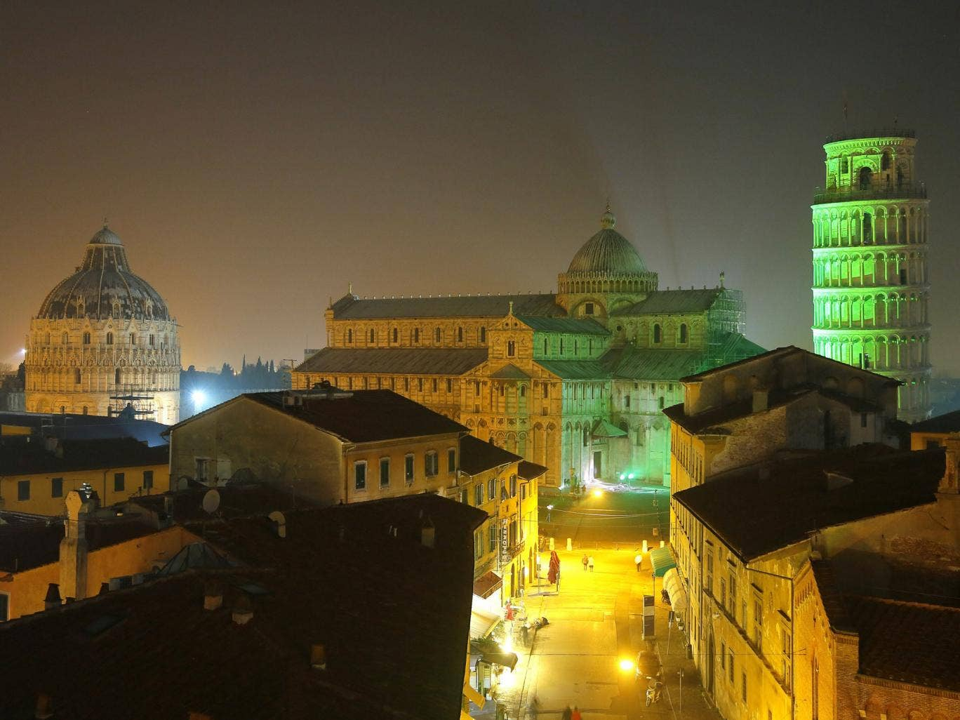 The Italian city of Pisa was one of two destinations where travellers can stay in five-star accommodation for £100 or less