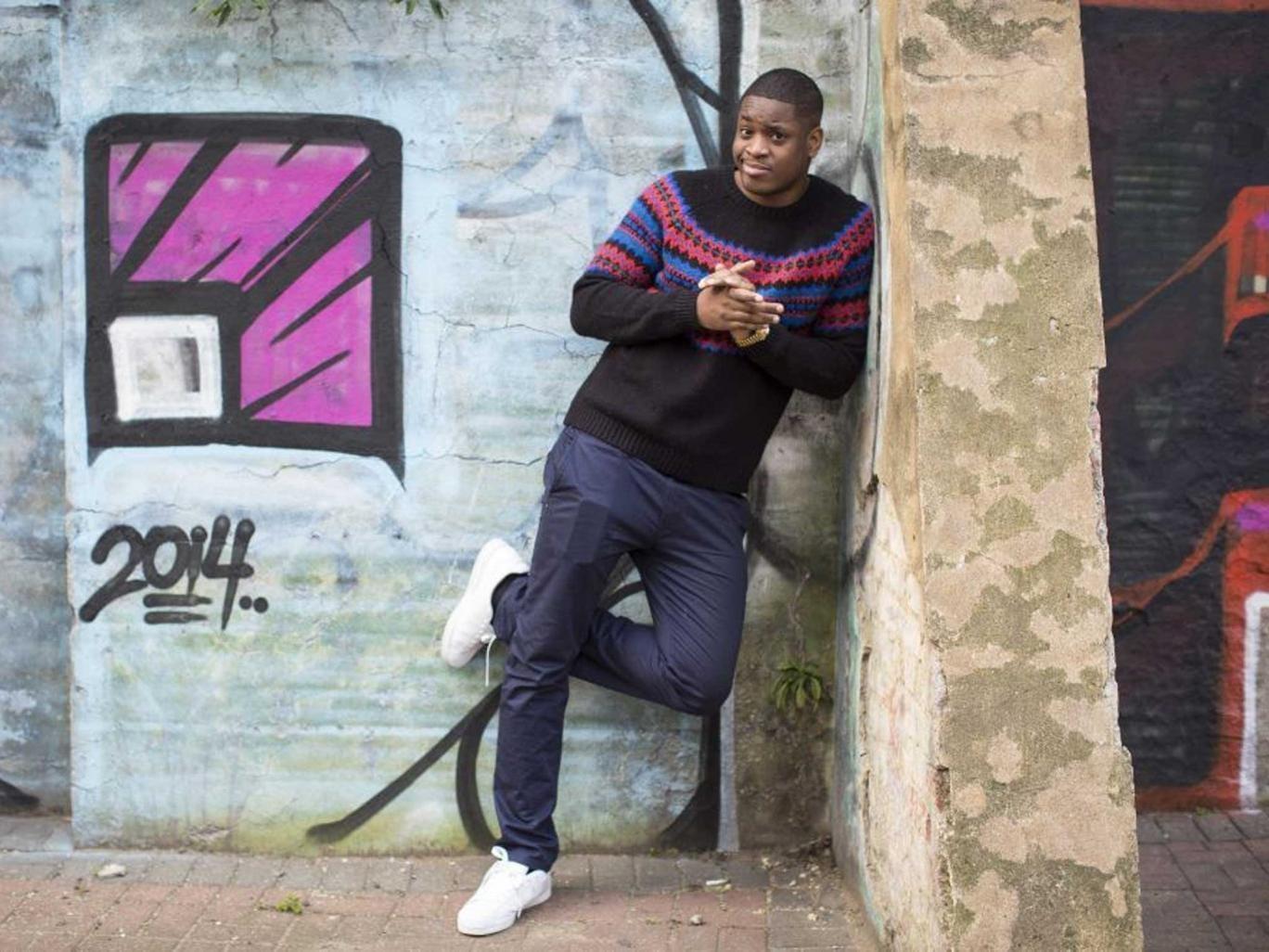 Fresh face: T-Boy star Tolu Ogunmefun
