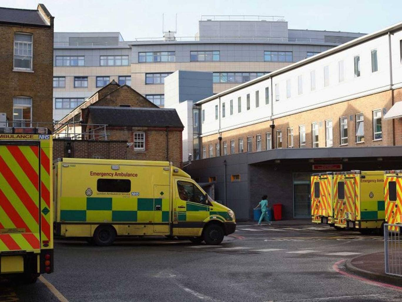 The A&E department at University Hospital Lewisham