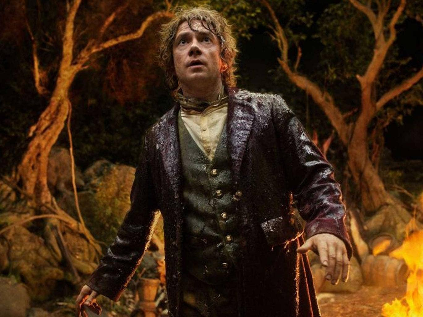 Martin Freeman playing the character in the 'Hobbit' film