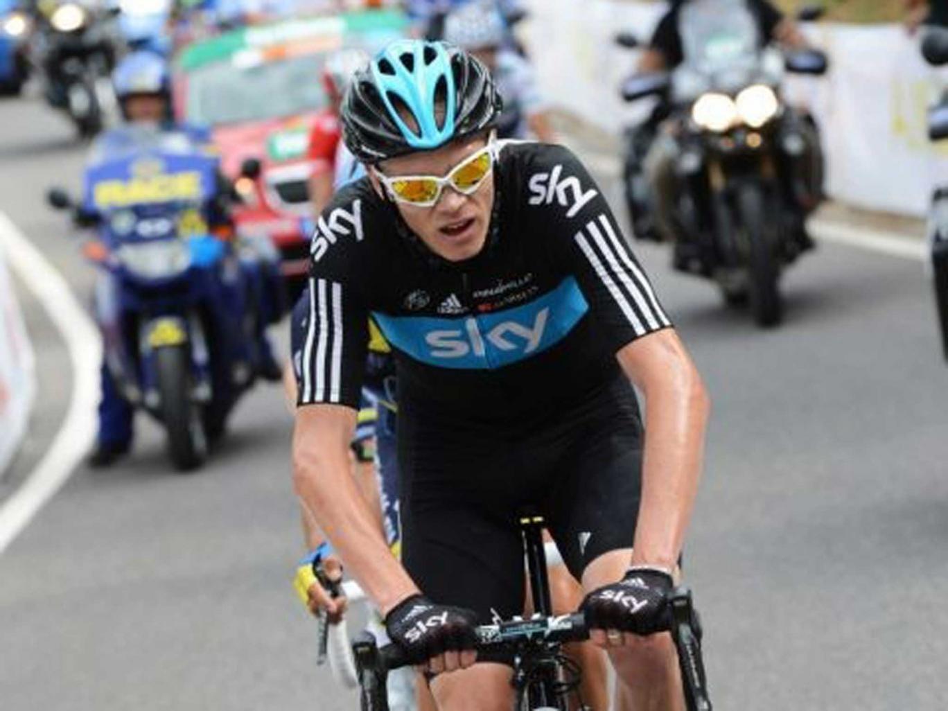 Chris Froome won last year's Tour de France