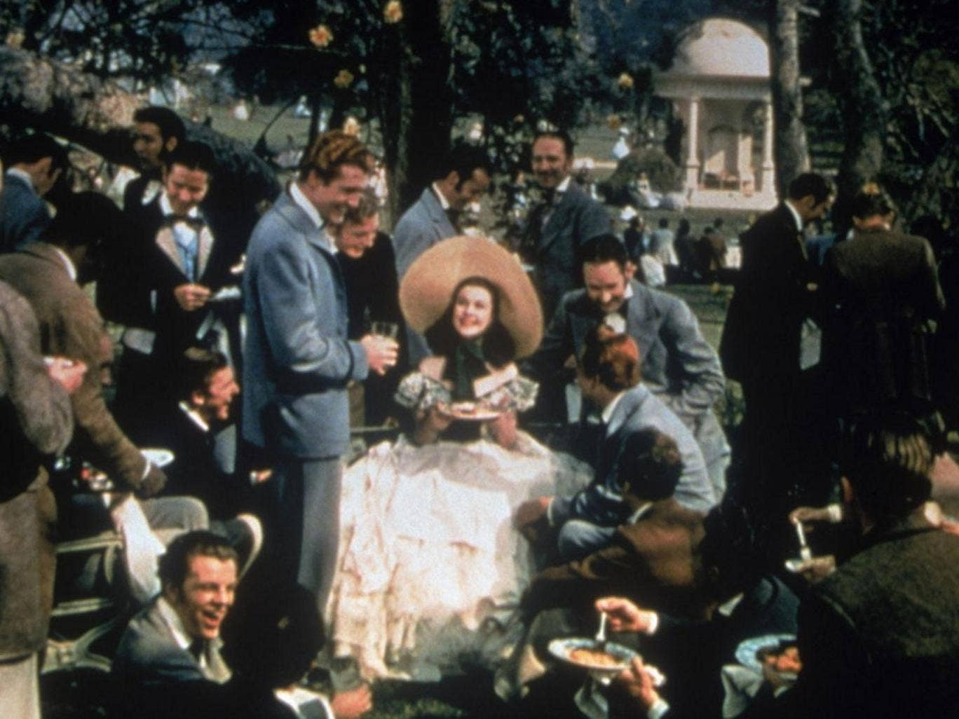Southern comfort: Vivien Leigh in 'Gone with the Wind'