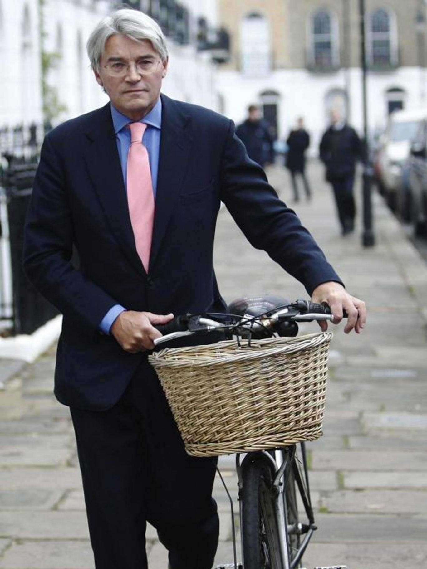 Andrew Mitchell MP during 'Plebgate'