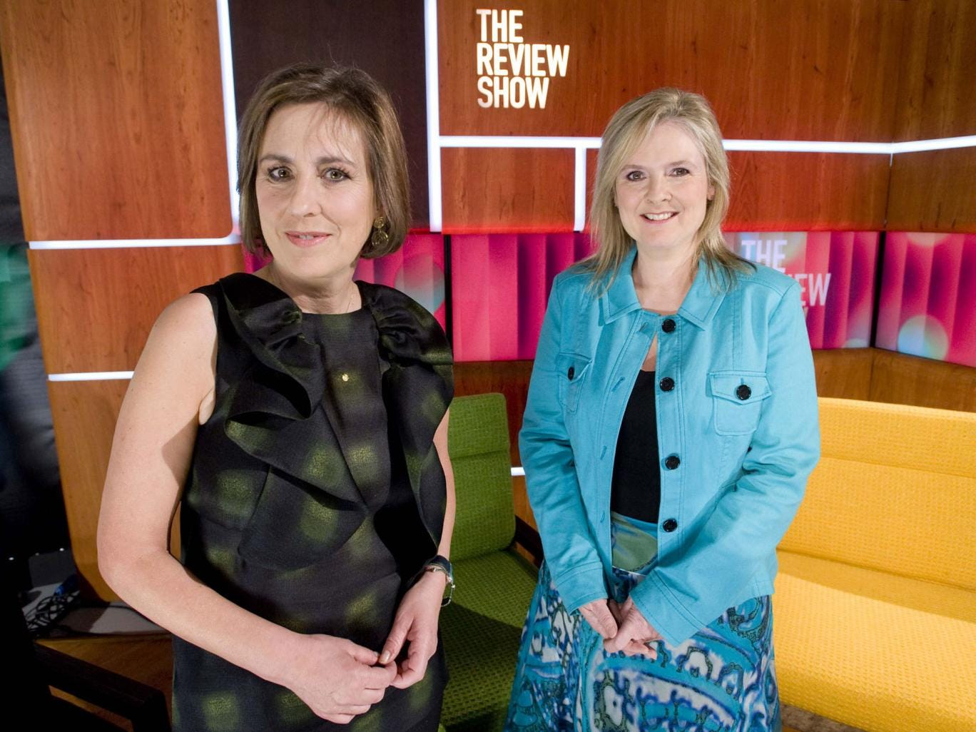 Last hurrah: Kirsty Wark and Martha Kearney, the presenters of 'The Review Show'