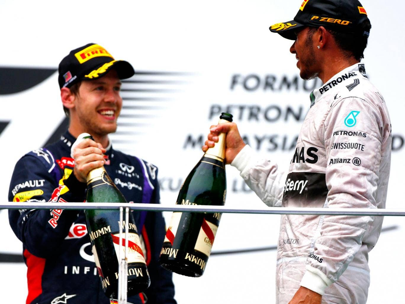 Sebastian Vettel has warned Mercedes that Red Bull are on the up and will be challenging them for race wins soon enough