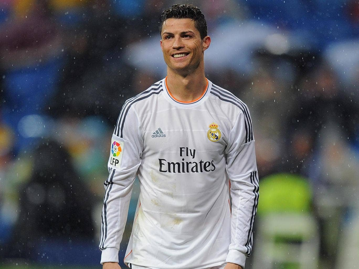 Cristiano Ronaldo during the 5-0 win over Rayo Vallecano