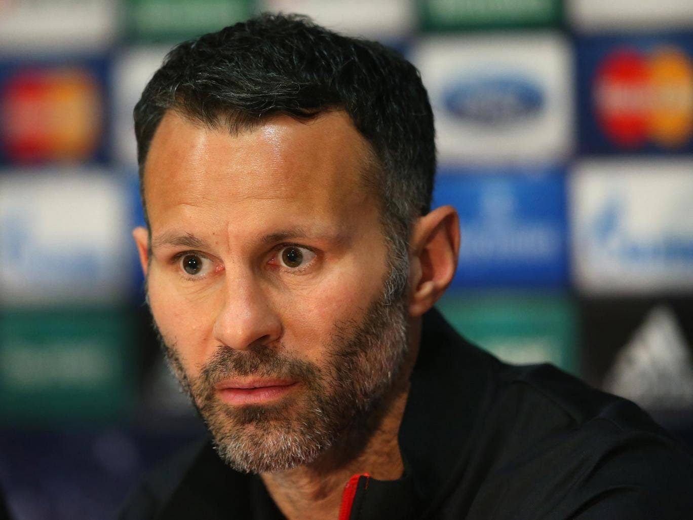 Ryan Giggs has played down talk of a rift with Manchester United manager David Moyes