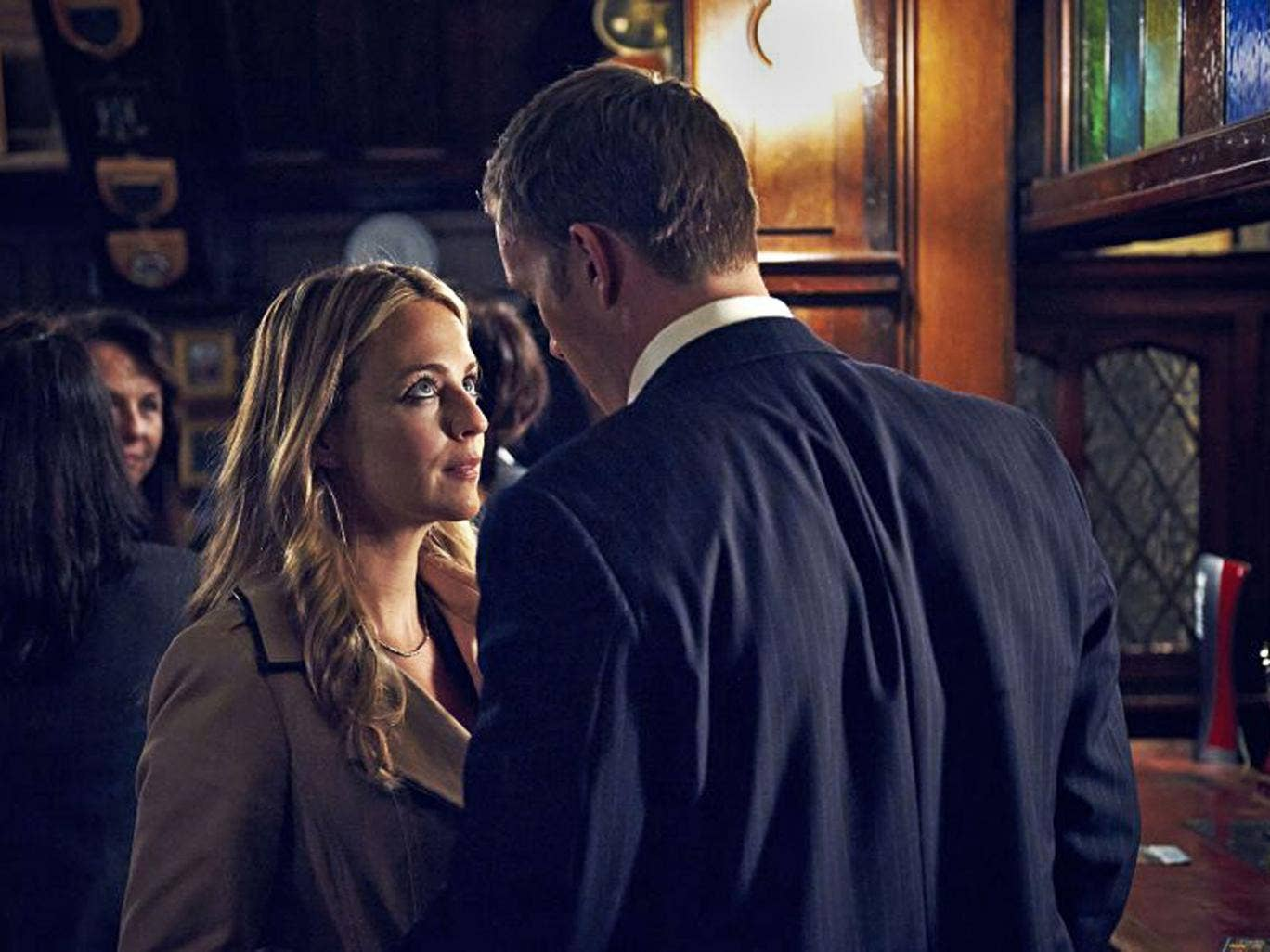 Briefs encounter: Miranda Raison and Rupert Penry-Jones in 'Silk'