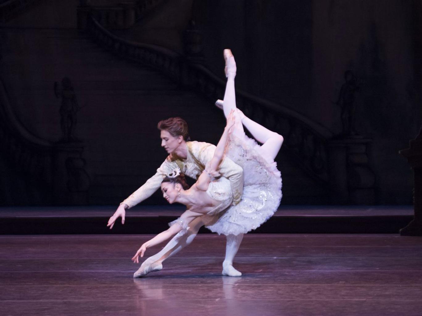 Dream team: Vadim Muntagirov and Akane Takada in 'The Sleeping Beauty'