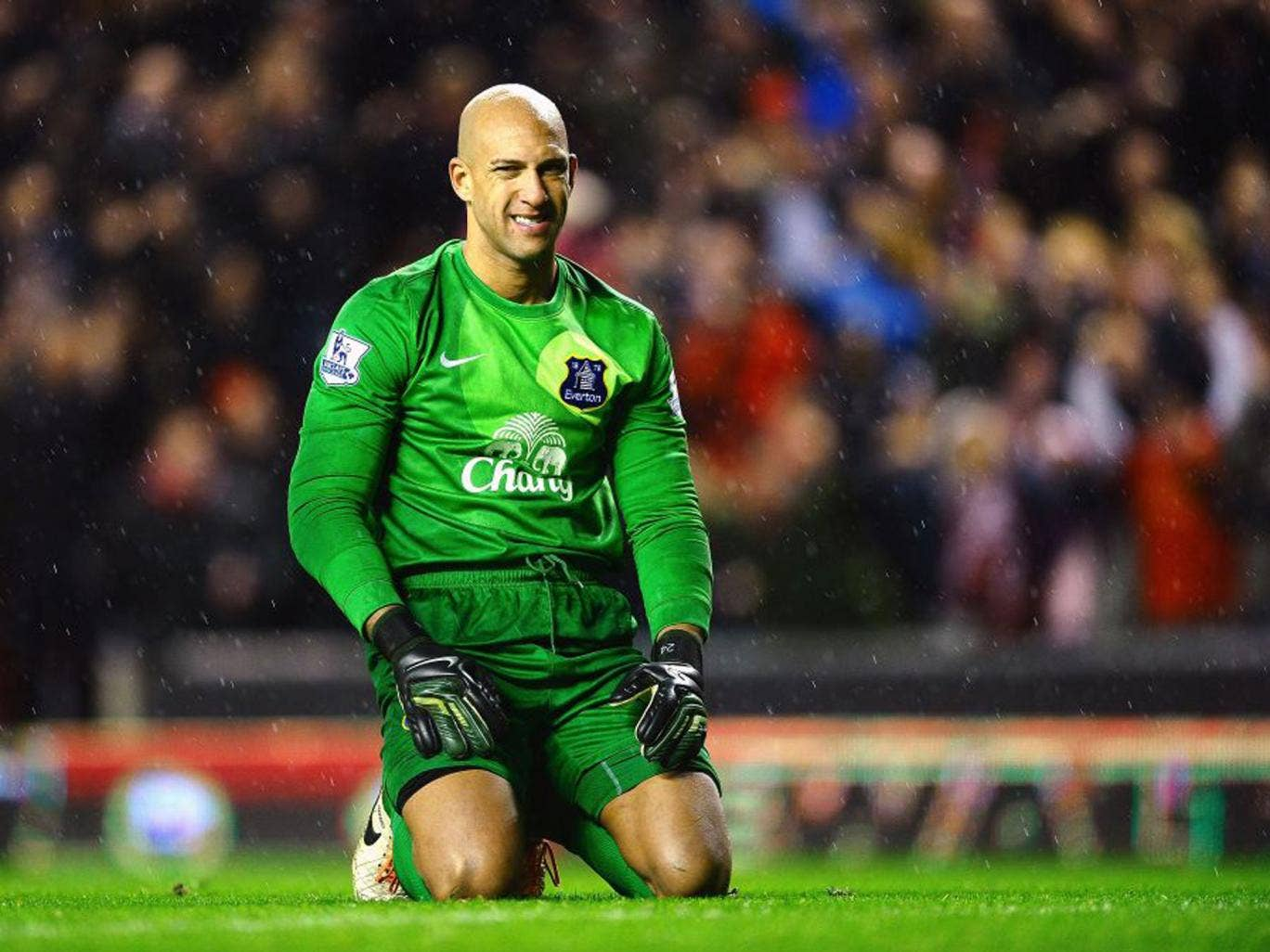 Tim Howard and Everton face Arsenal knowing victory will put them on course  to finish fourth