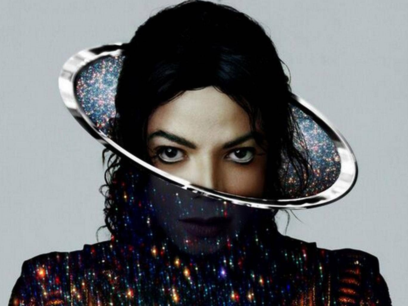 Michael Jackson on the cover for his forthcoming posthumous album, XSCAPE