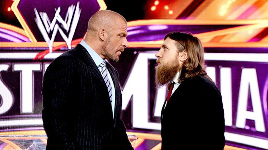 Triple H will take on Daniel Bryan at WrestleMania 30