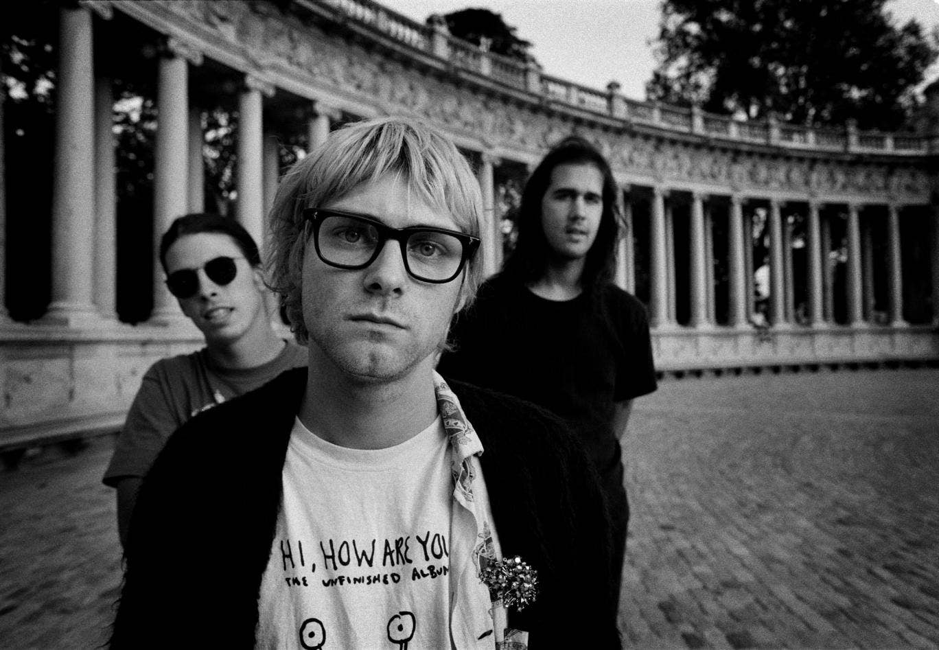 Charles Peterson and Steve Double's photographs of Kurt Cobain and Nirvana are on display in London's Proud Camden