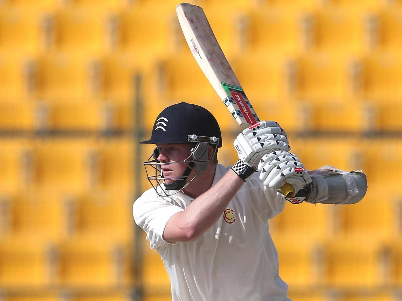 Sam Robson's batting style has been likened to that of Michael Atherton