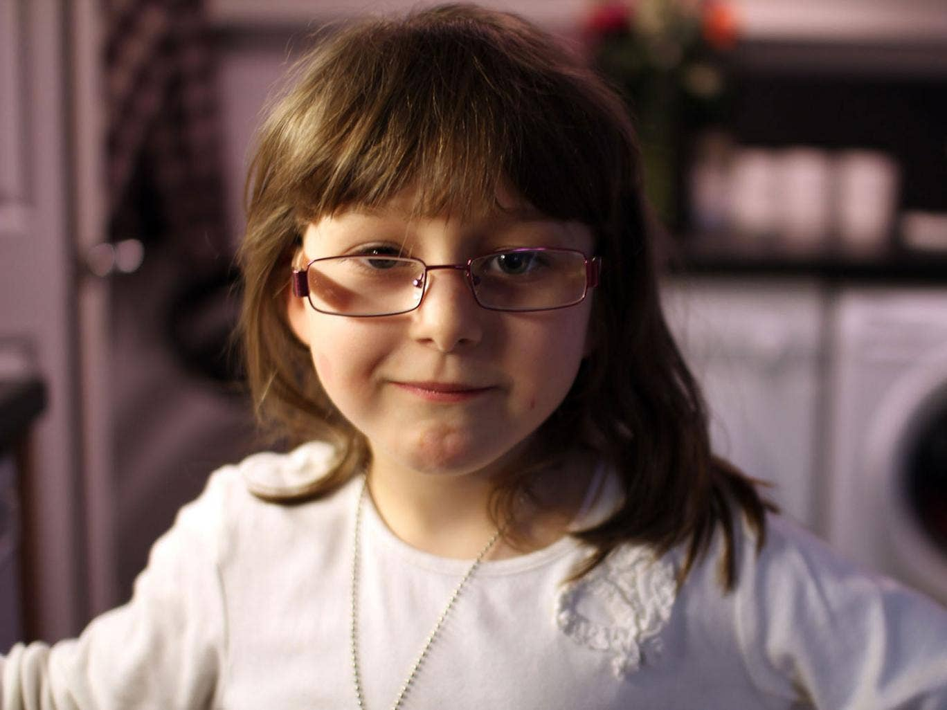 Lauren is one of the children featured on 15,000 Kids and Counting