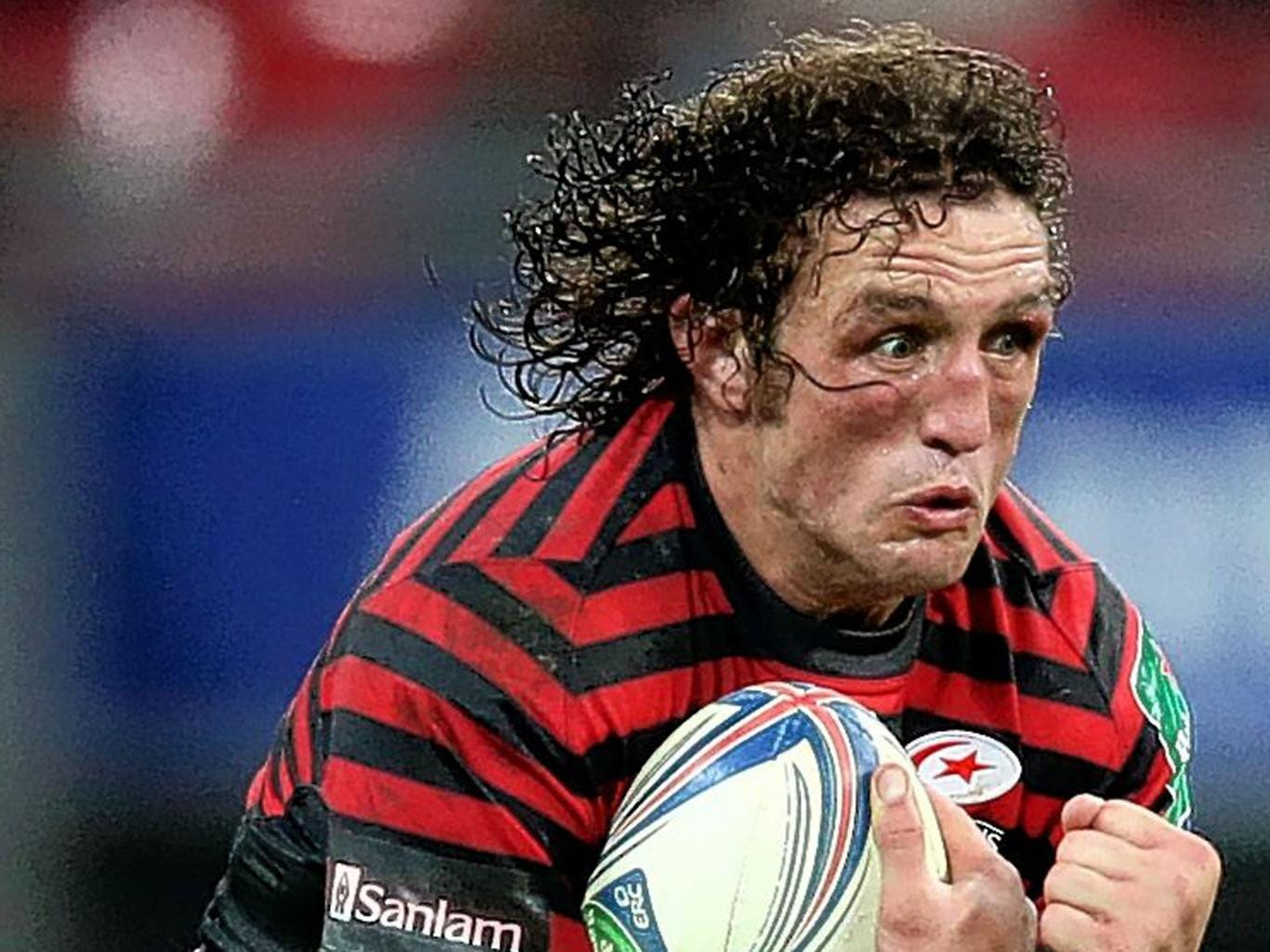 Jacques Burger has, due to injury, played only 10 Heineken Cup games for Saracens