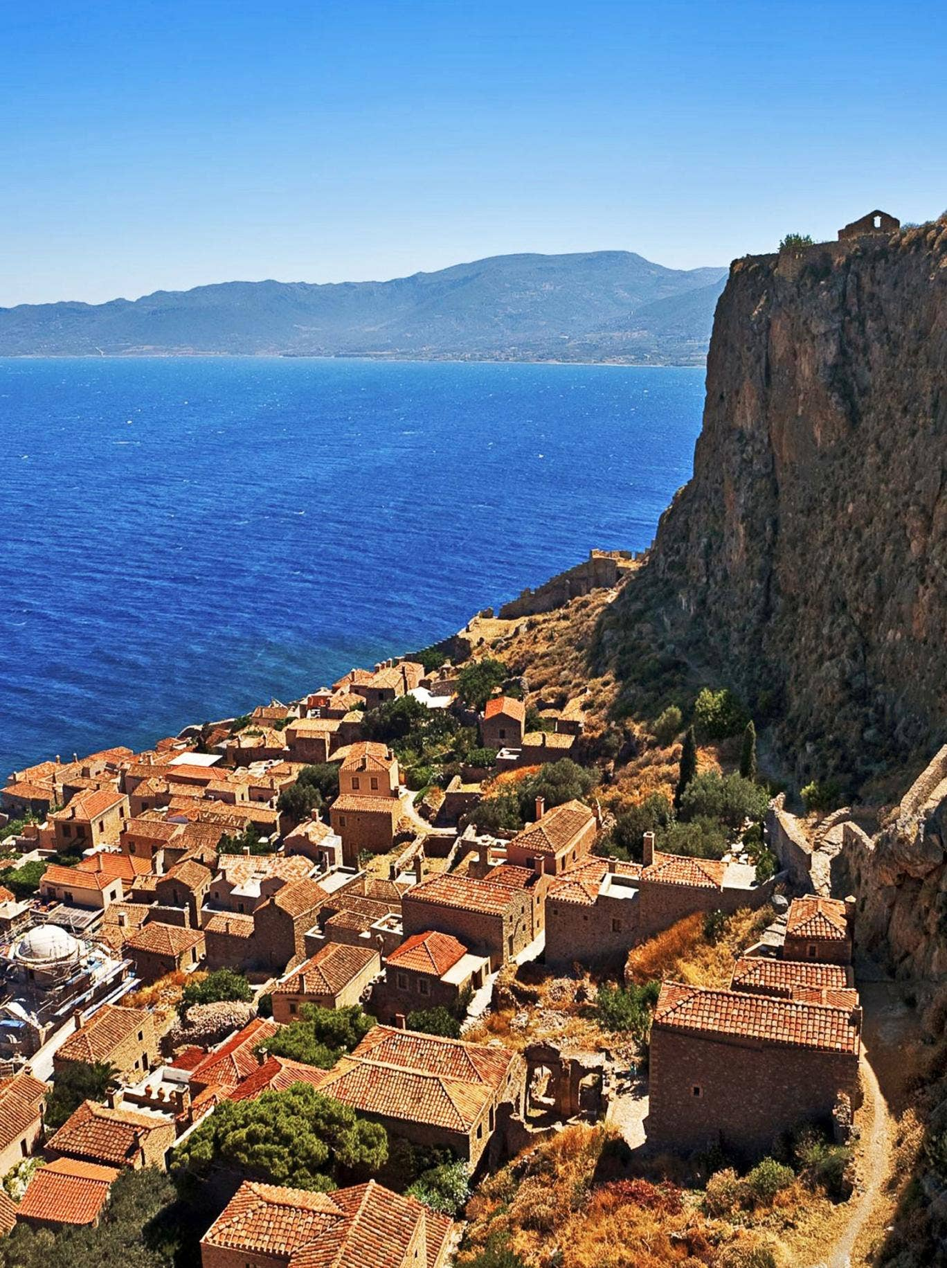 Greece is the word: the hill town of Monemvasia