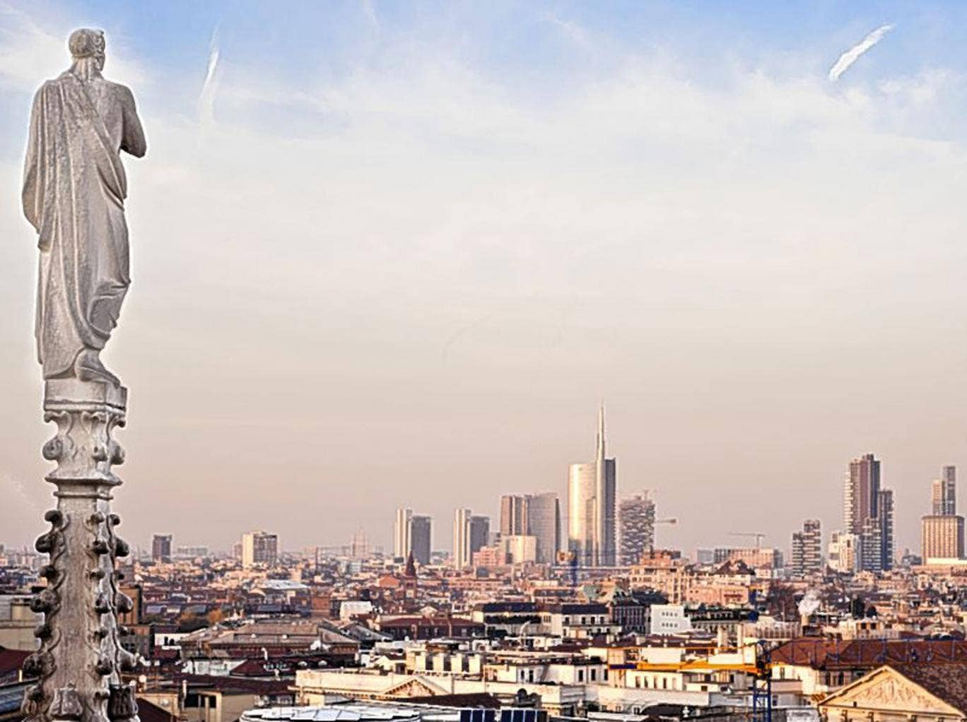 Style high: Milan's ancient and modern skyline