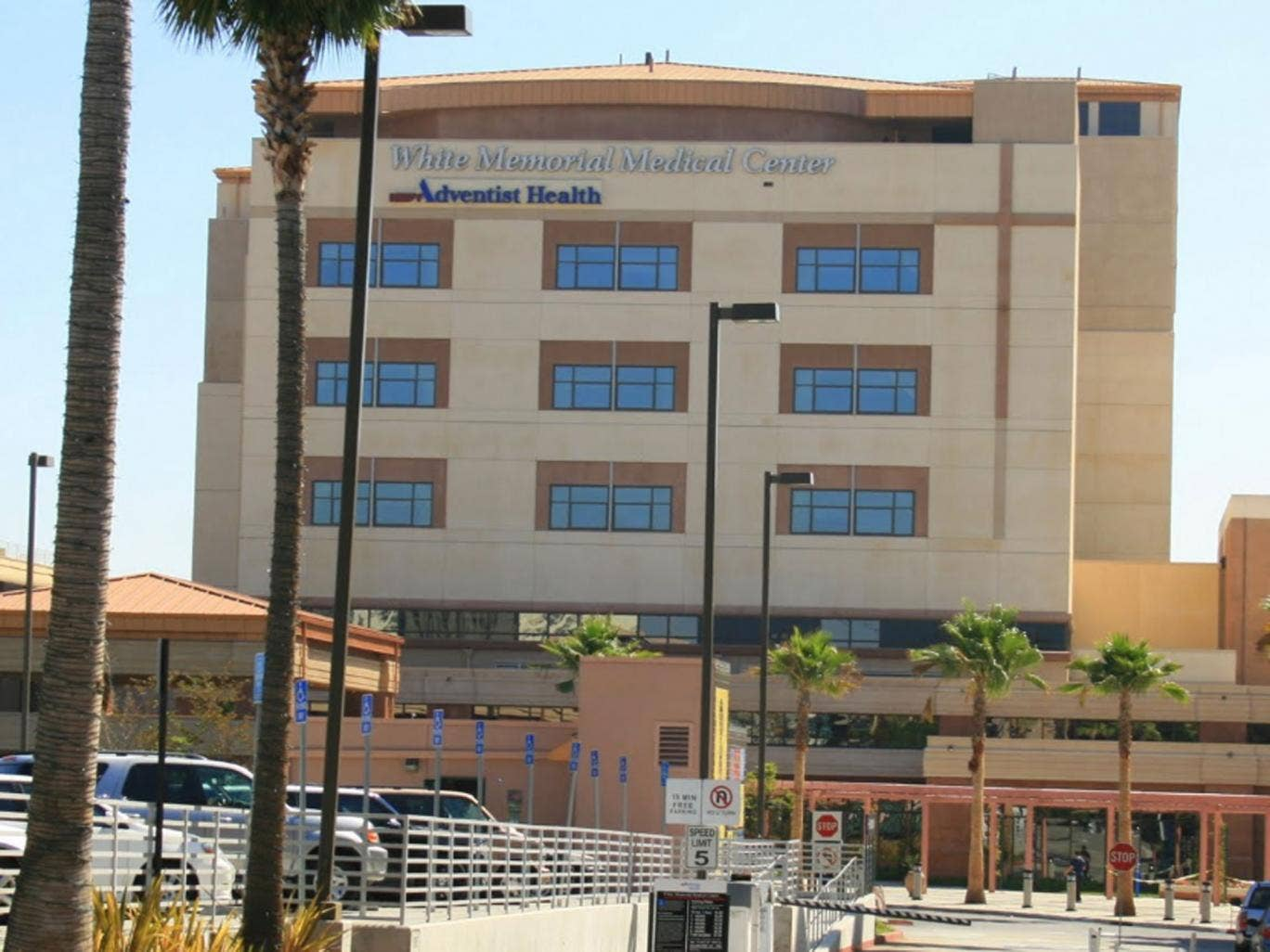White Memorial Hospital in Los Angeles, where Ms  Arroyo allegedly froze to death