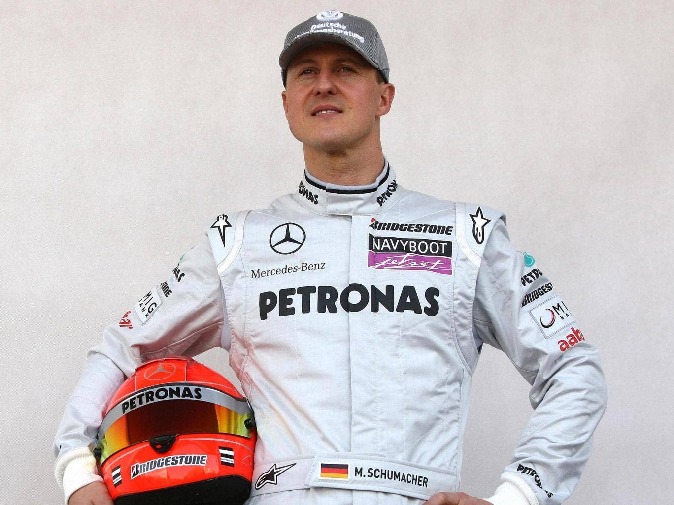 Michael Schumacher in 2010. The seven-times Formula One world champion has been in a coma for more than 13 weeks