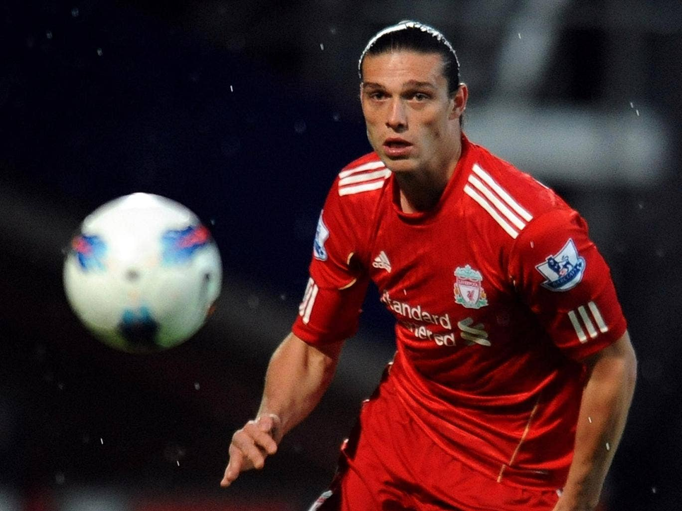 Andy Carroll found himself out of place at Brendan Rodgers' Liverpool