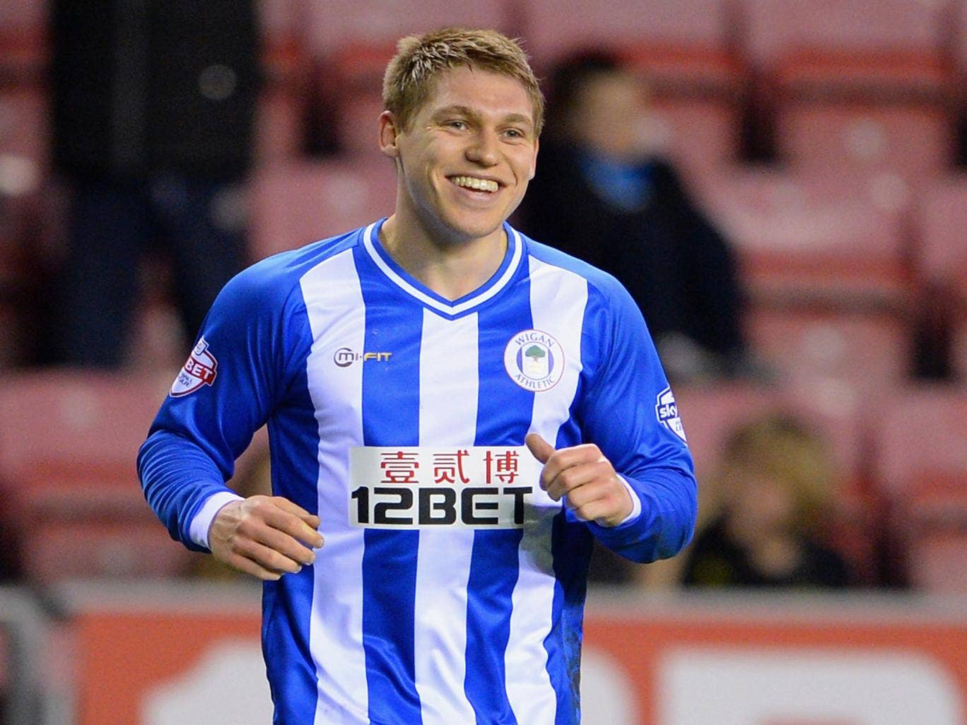 Martyn Waghorn celebrated his permanent move to Wigan with the winning goal against Leeds