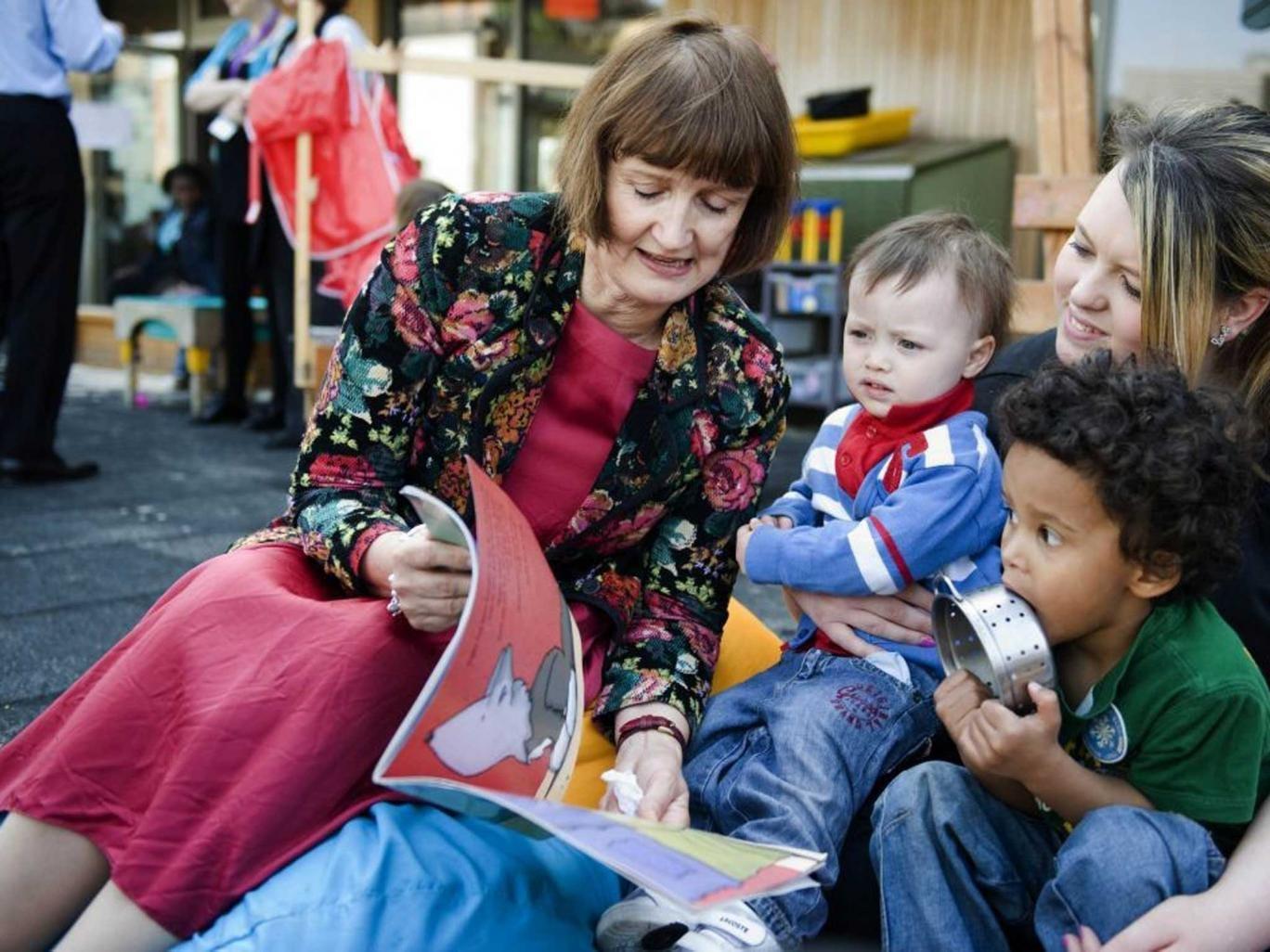 Tessa Jowell has labelled the Sure Start scheme a 'national treasure'