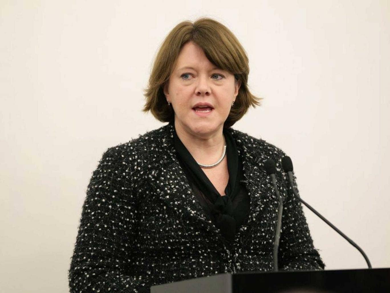 Maria Miller has come under fire for her - very - short apology