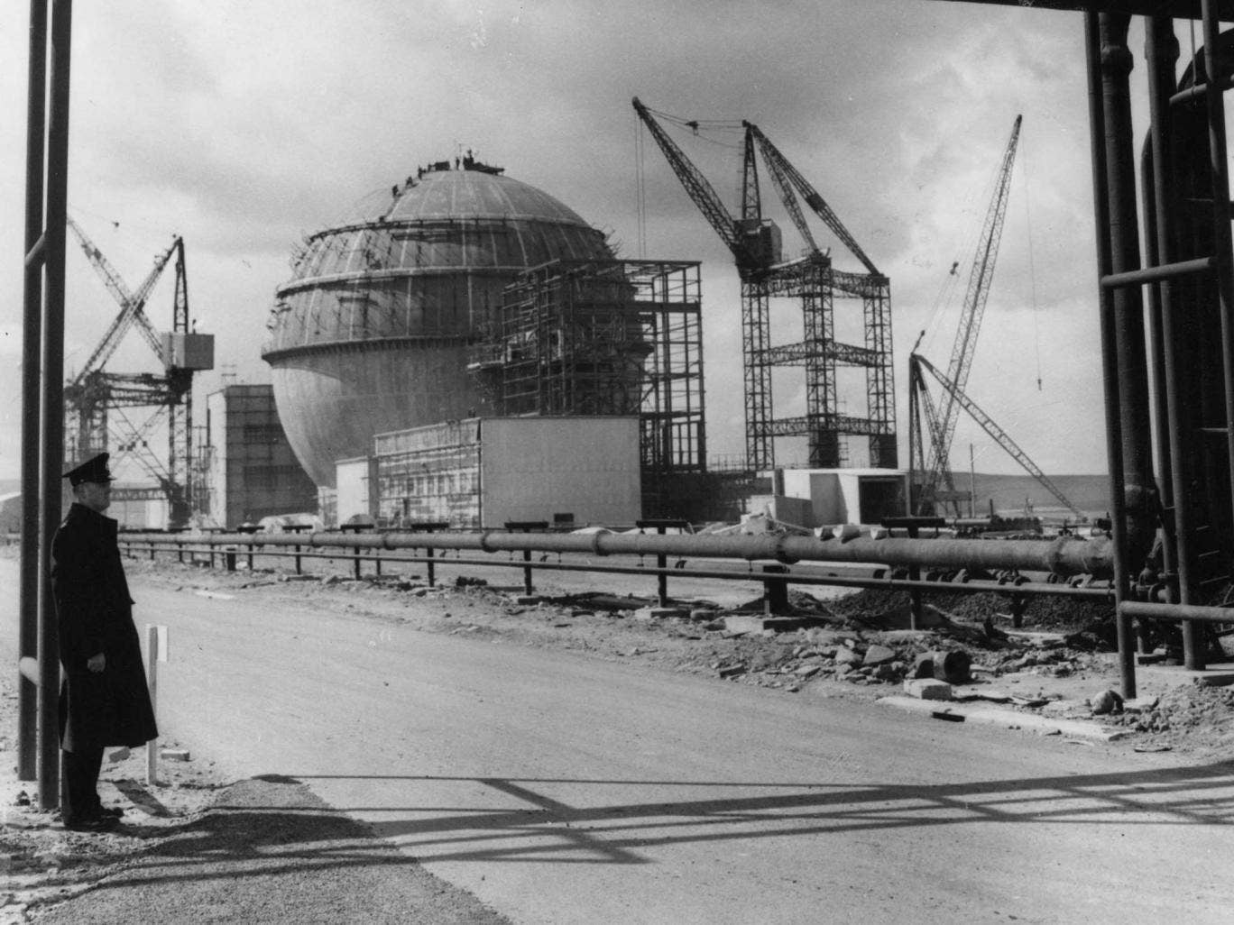 Dounreay in the 1950s - it was Britain's first fast reactor