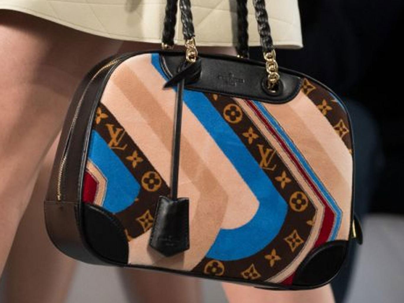 Vuitton's interlaced LV is fashion's most copied fashion logo