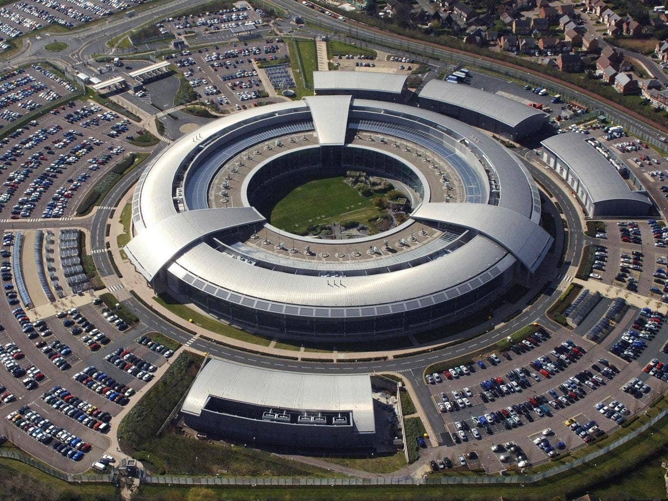 GCHQ in Cheltenham. Master's degree graduates need a detailed knowledge of 'malicious code' and 'adversarial thinking'