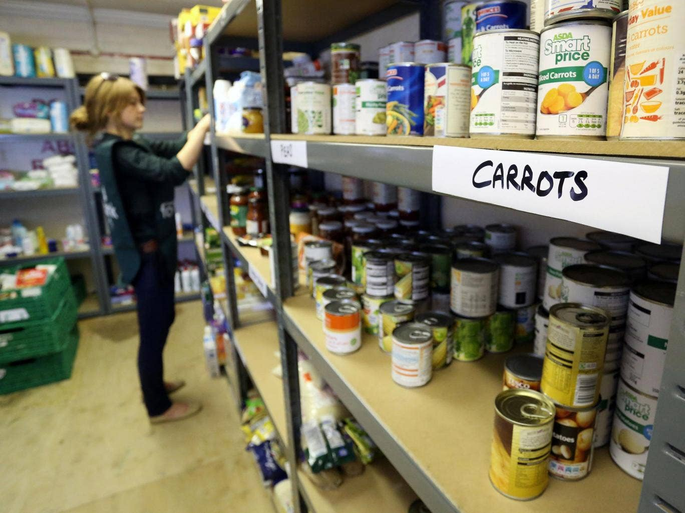More students are turning to food banks