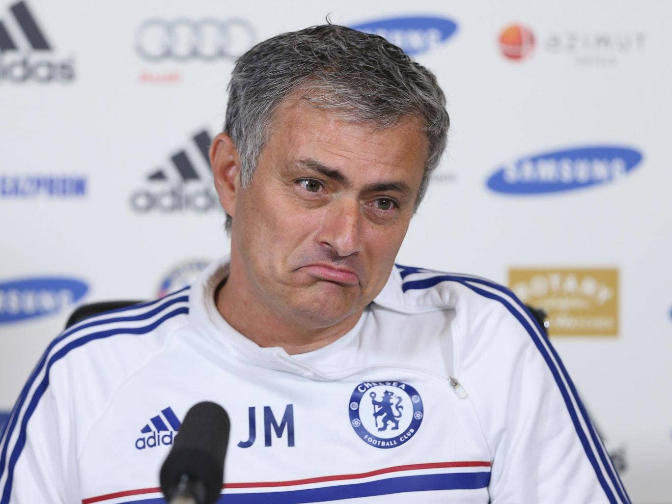 Jose Mourinho is maintaining a consistent line in limiting expectations