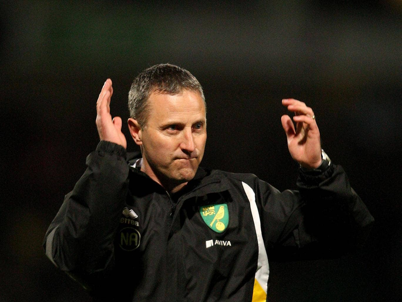 Neil Adams has been given five matches to keep Norwich in the Premier League after Chris Hughton was sacked
