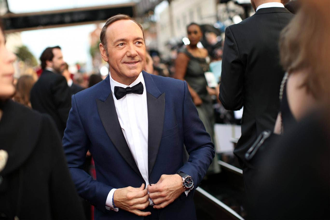 Kevin Spacey at the Academy Awards in 2014
