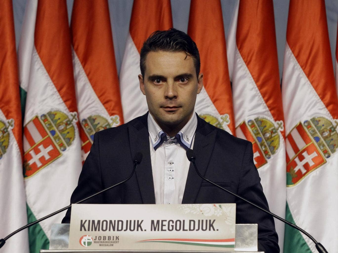 Gabor Vona, leader of the far-right Jobbik party, saw significant gains