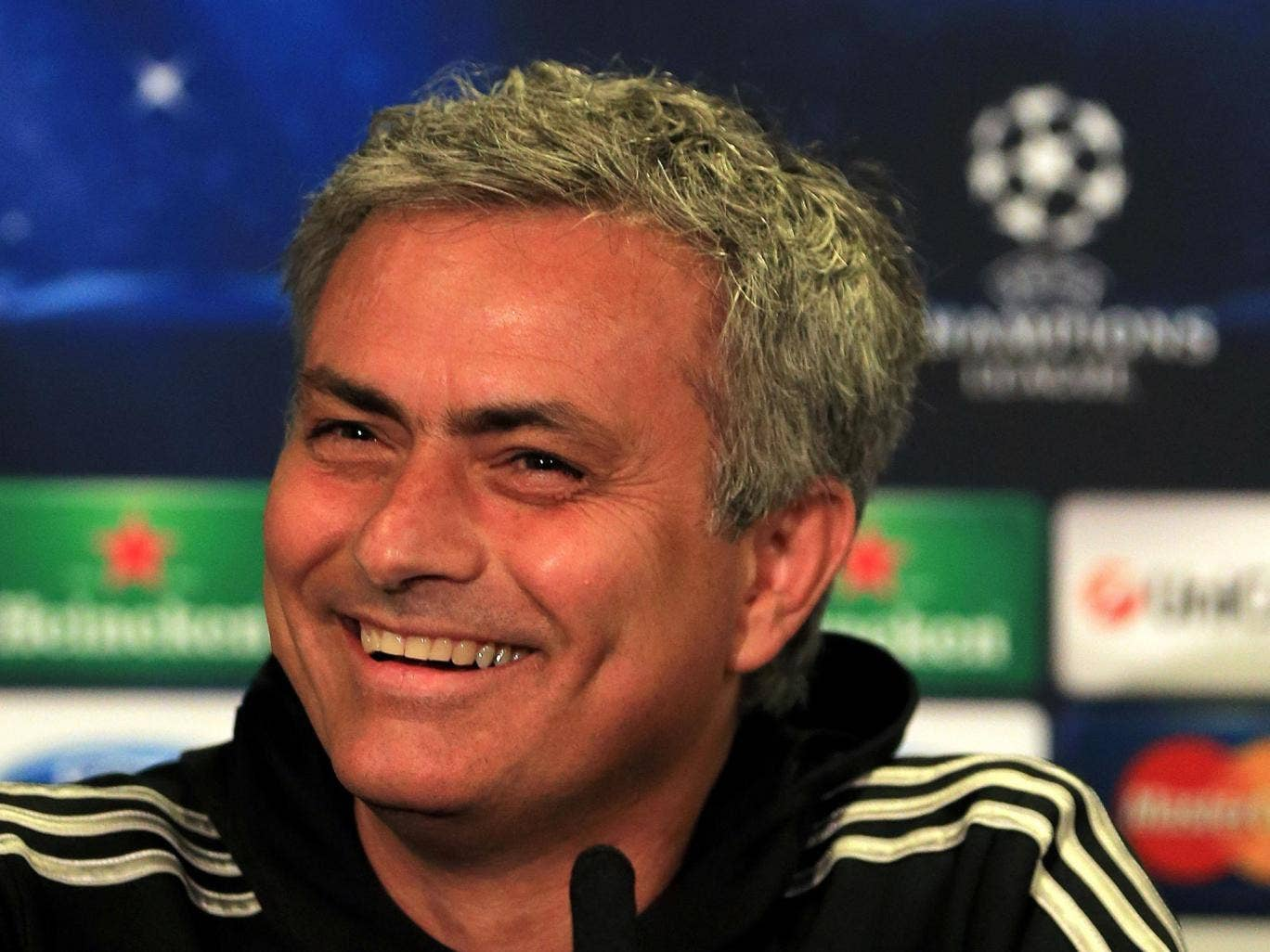 Chelsea manager Jose Mourinho has said that his Chelsea team could out-score Paris Saint-Germain and reach the Champions League semi-finals