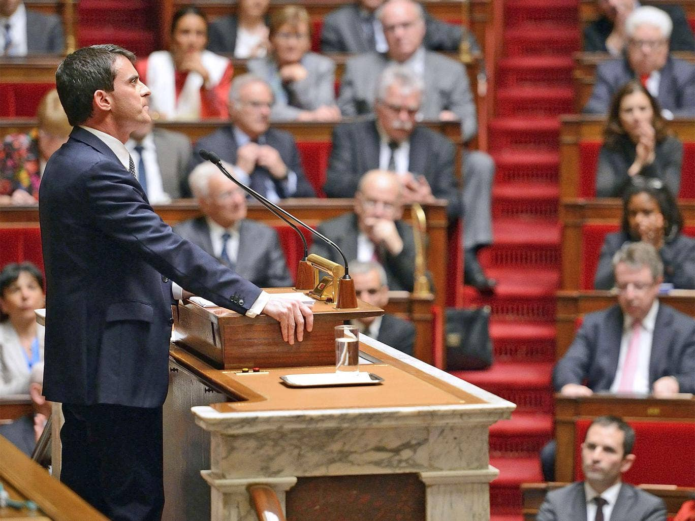 Mr Valls said austerity was 'counter-productive'