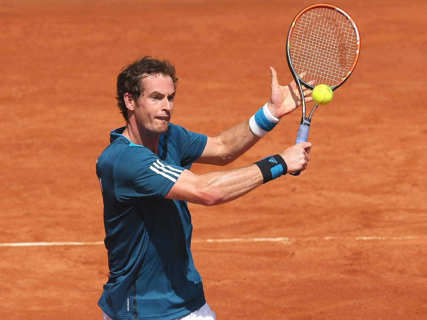 Andy Murray's most recent experience on clay, the Davis Cup match against Italy in Naples, ended in defeat to Fabio Fognini in the singles