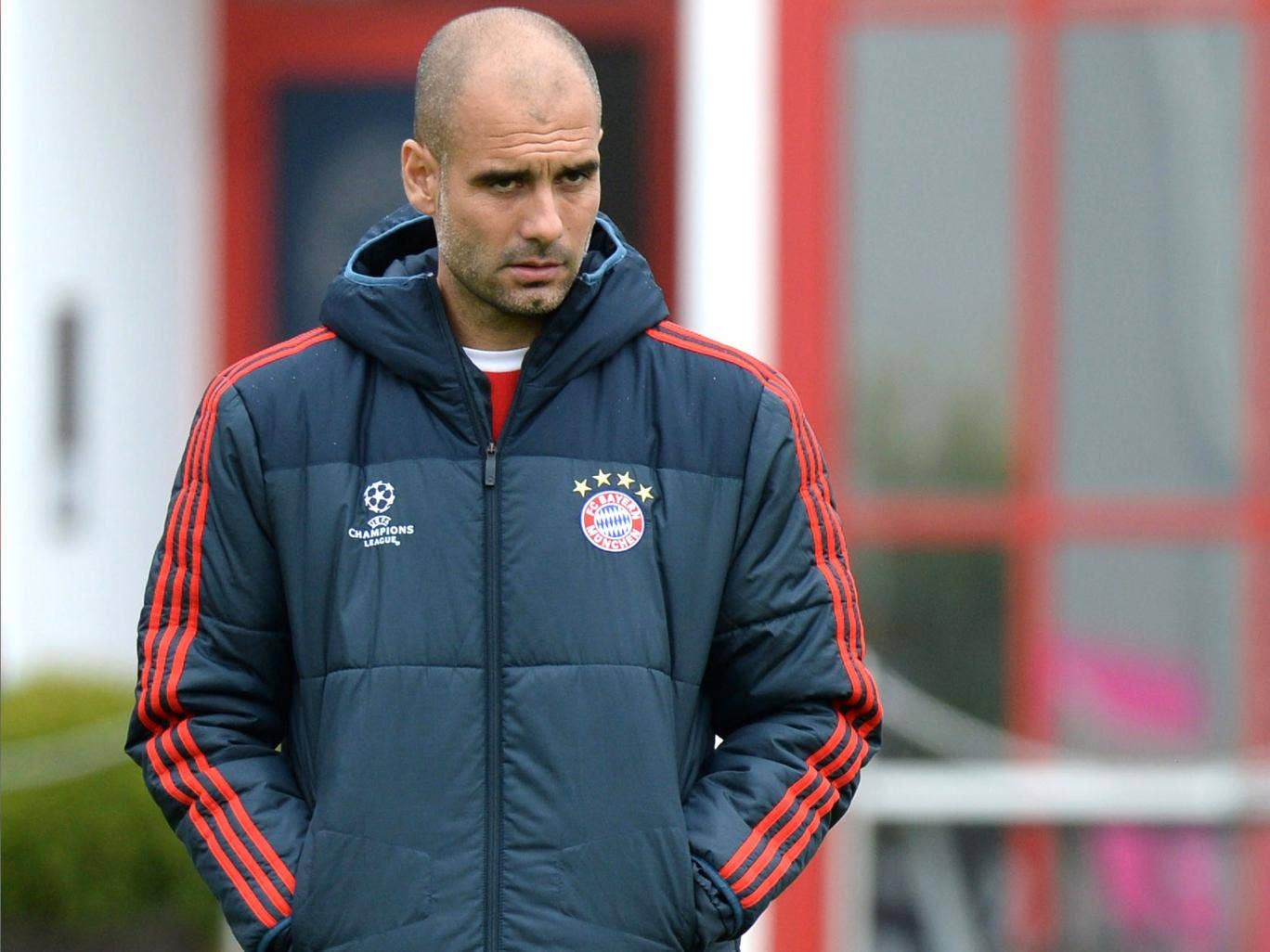 Pep Guardiola is under pressure to at least match last season's success