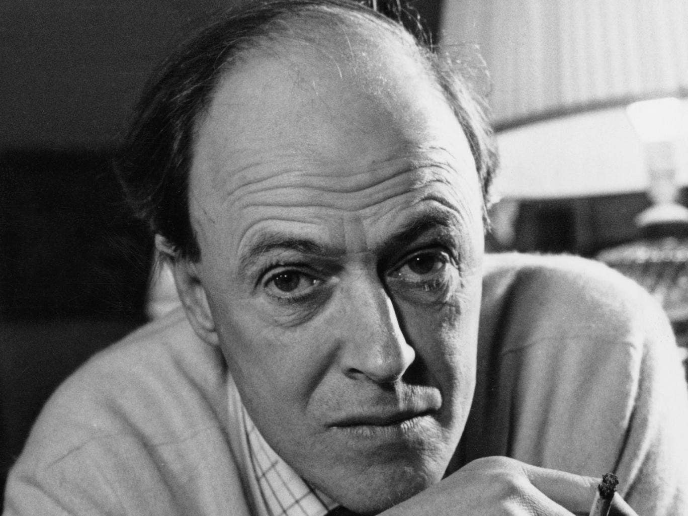British writer Roald Dahl (1916 - 1990), 11th December 1971.