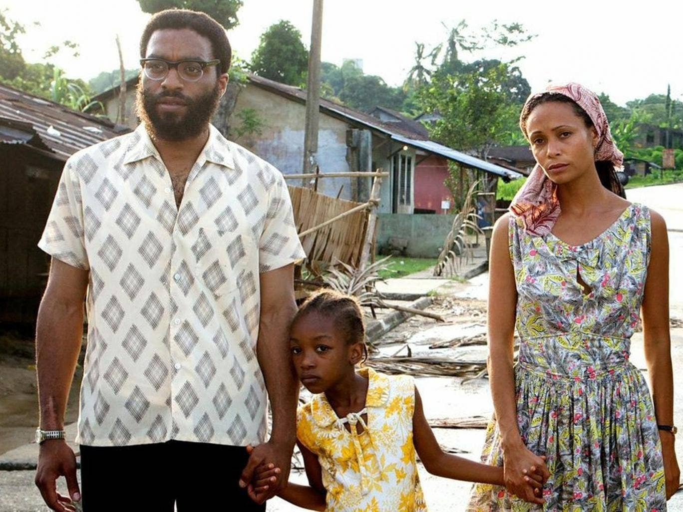 Chiwetel Ejiofor, Favour Asikpa and Thandie Newton in 'Half of a Yellow Sun'