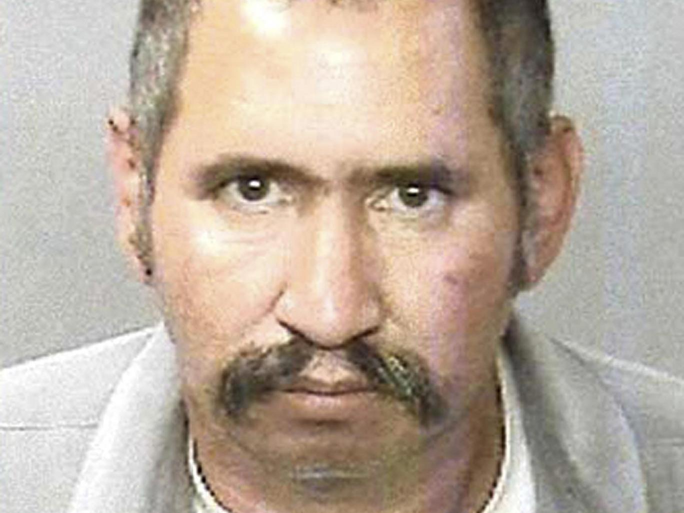 Jose Manuel Martinez, who has been described as a contract killer by California prosecutors - mexico-hitman