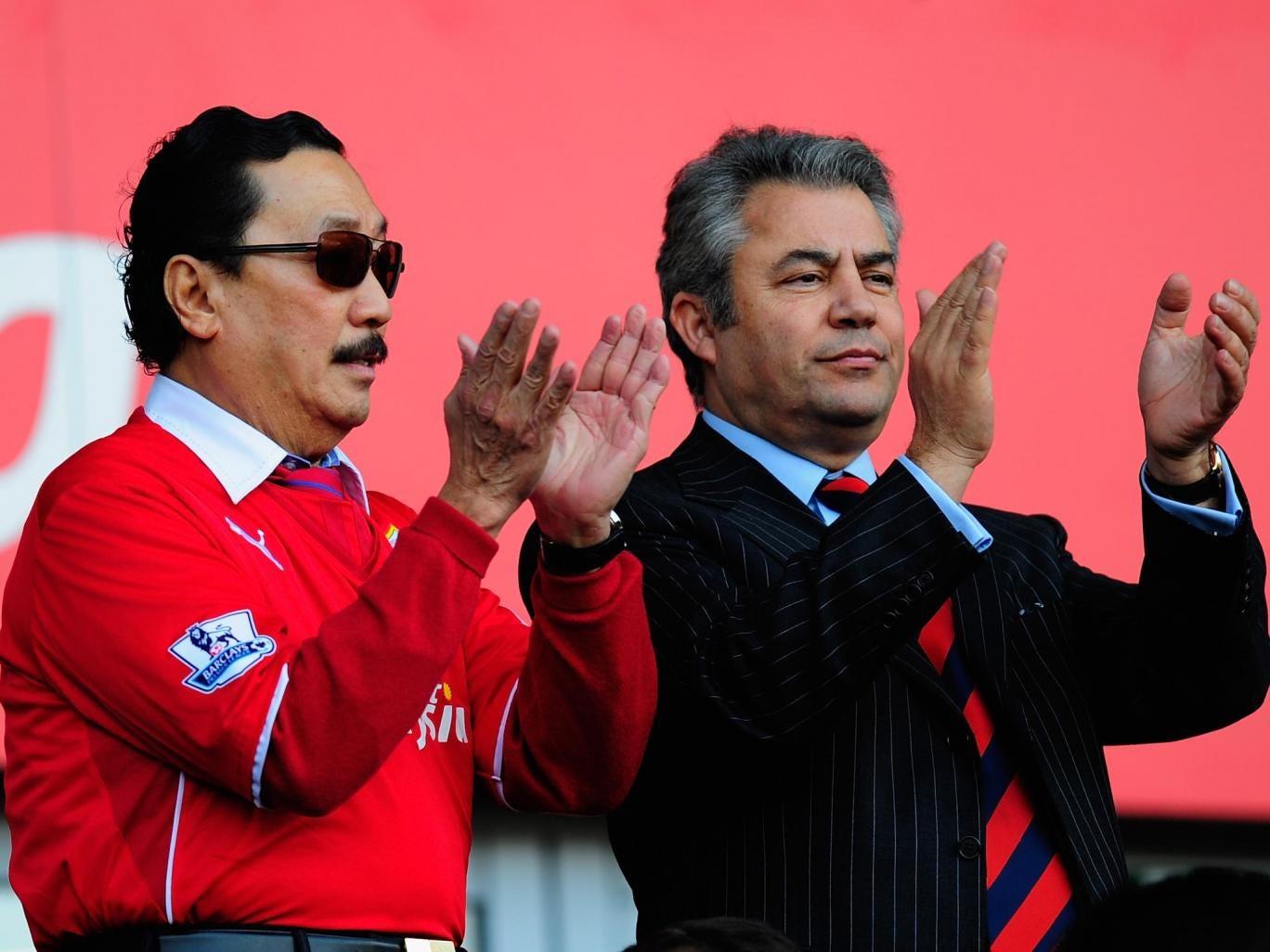 Vincent Tan and Mehmet Dalman