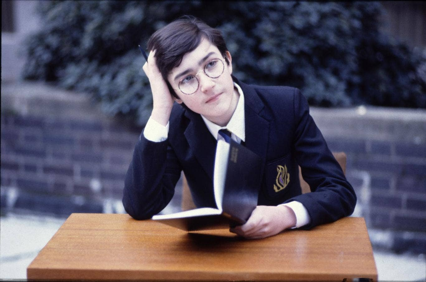 Gian Sammarco plays Adrian Mole in 'The Secret Diary of Adrian Mole'
