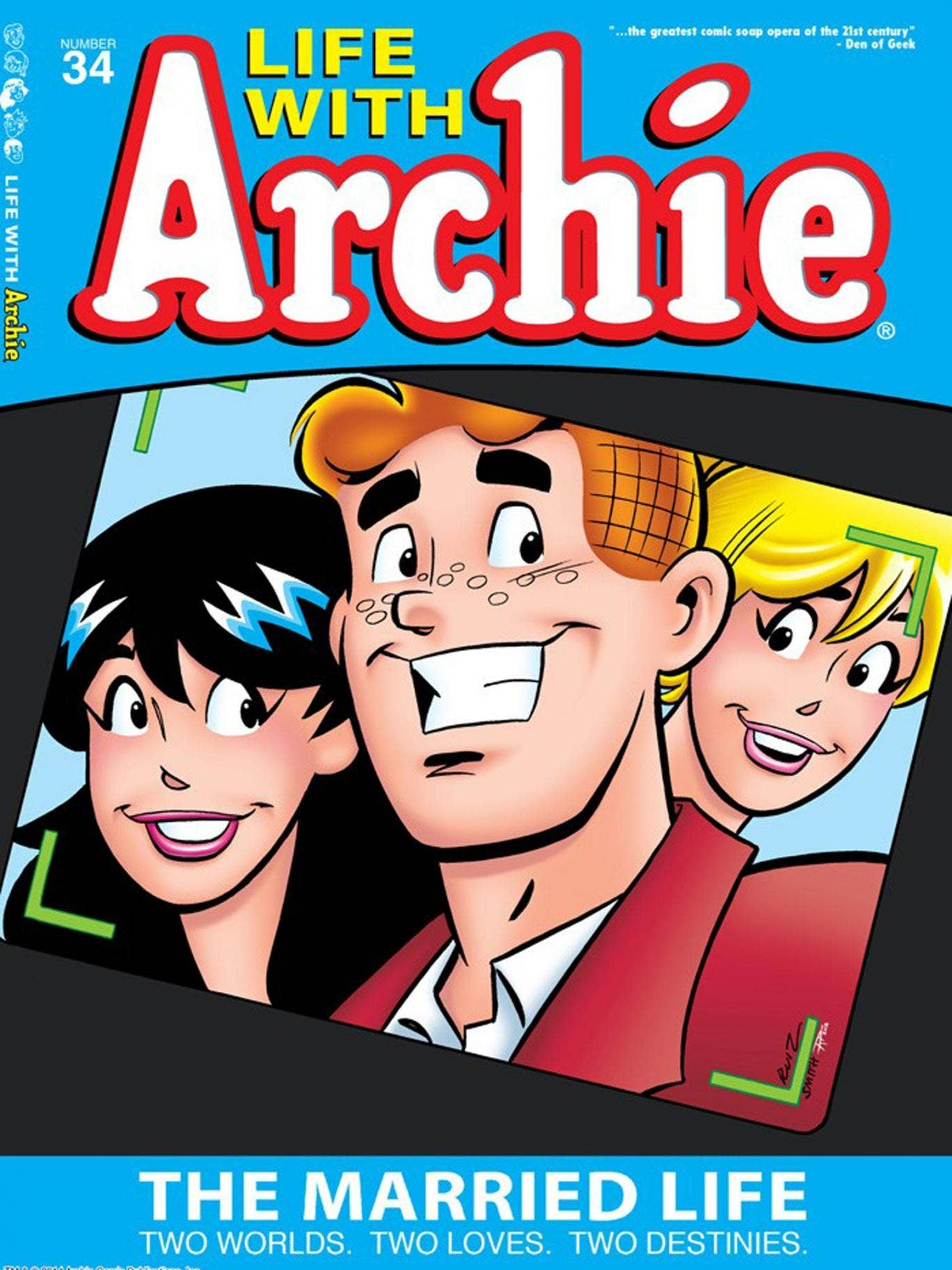 A front cover of the 'Archie' comic
