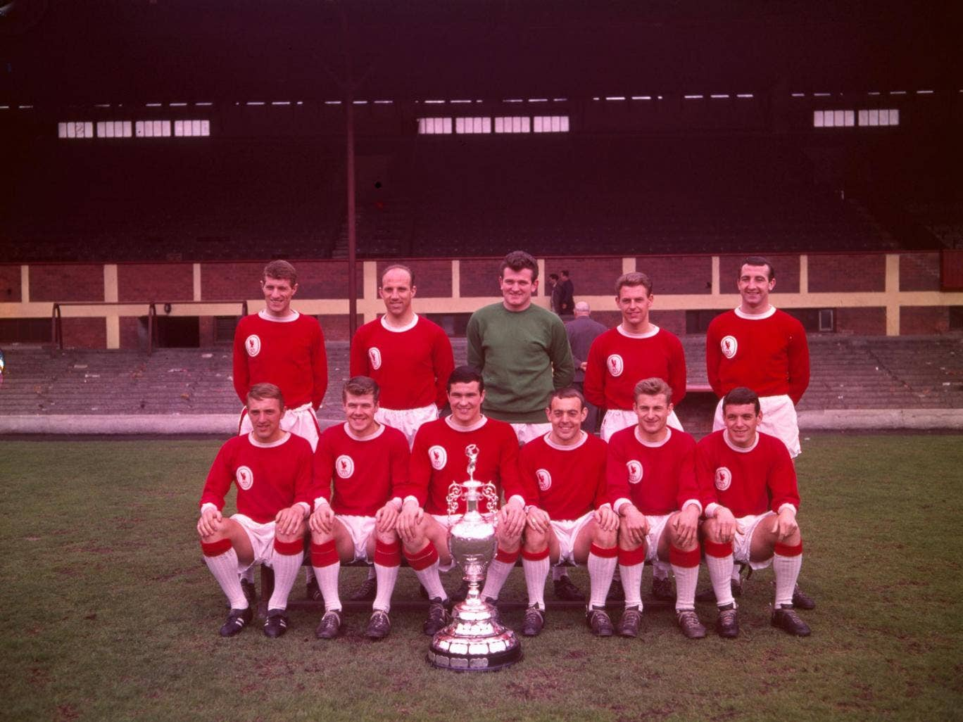 Bill Shankly's Liverpool side of 1963-64 swept all before them