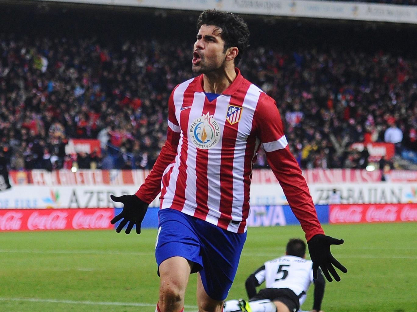 Chelsea covet Diego Costa