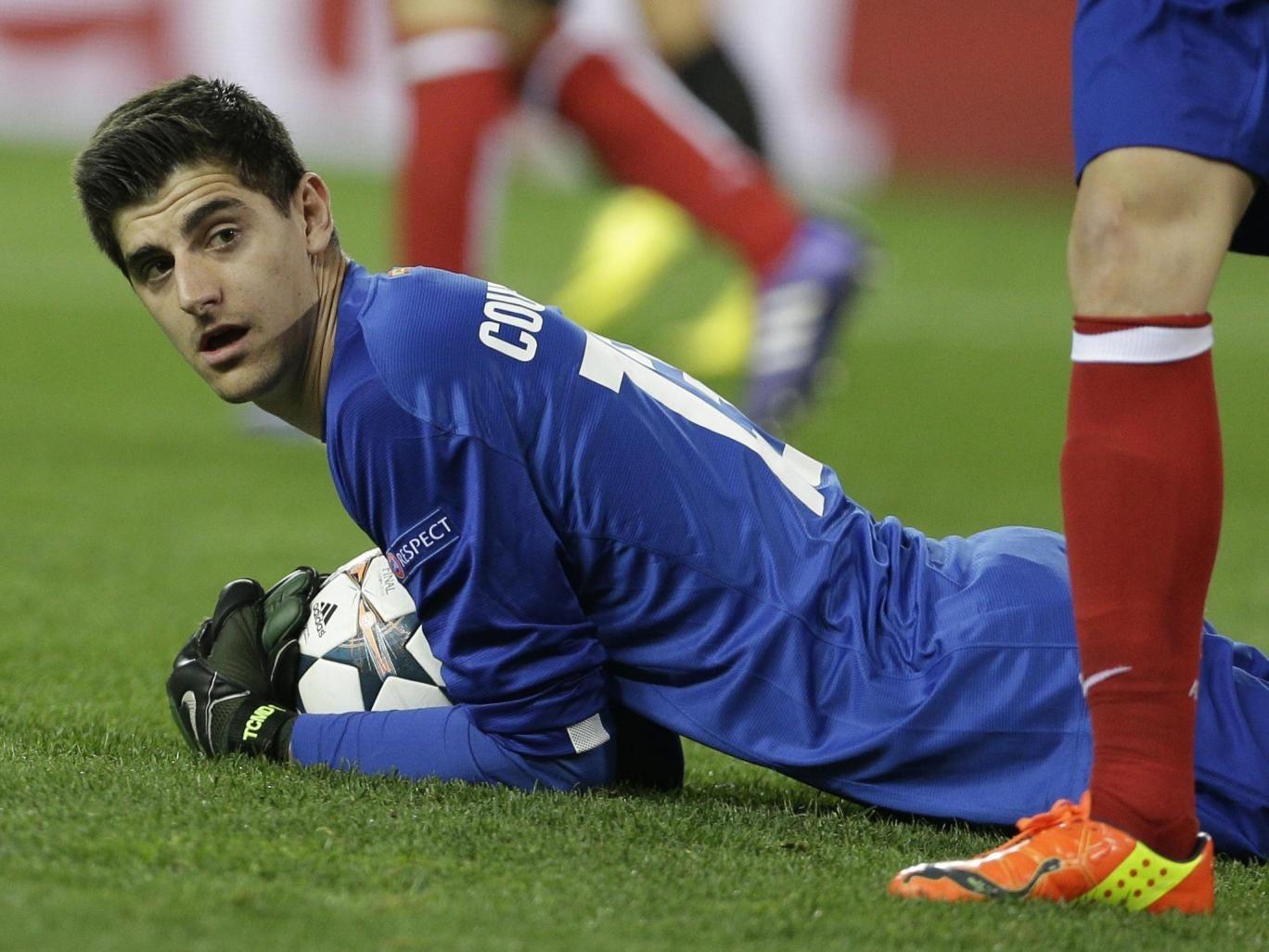 Courtois impressed for Atletico Madrid last season on loan